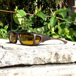 Fitover sunglasses with yellow lenses