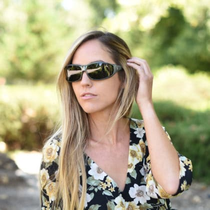 Vistana fitovers are made to be the most stylish fitovers out there. Jory Paul is here wearing a pair of steel-finish with a gray lens for true color definition.