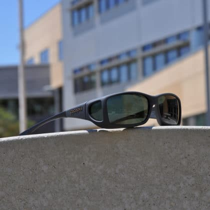 Modern fitover sunglasses