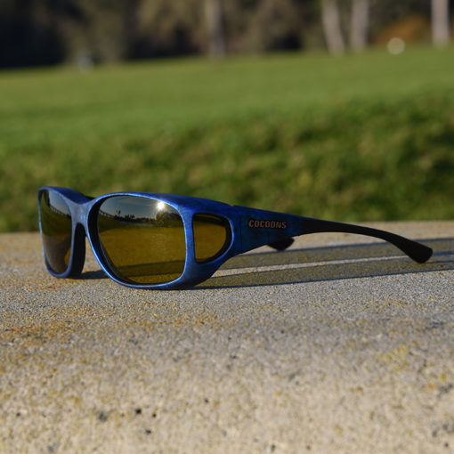 Style Line fitover sunglasses with yellow