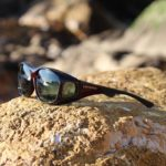 Stream Line Cocoons fitover sunglasses in Black Cherry