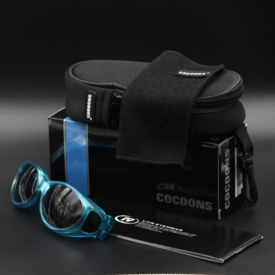 Cocoons fitover sunglasses come with accessories