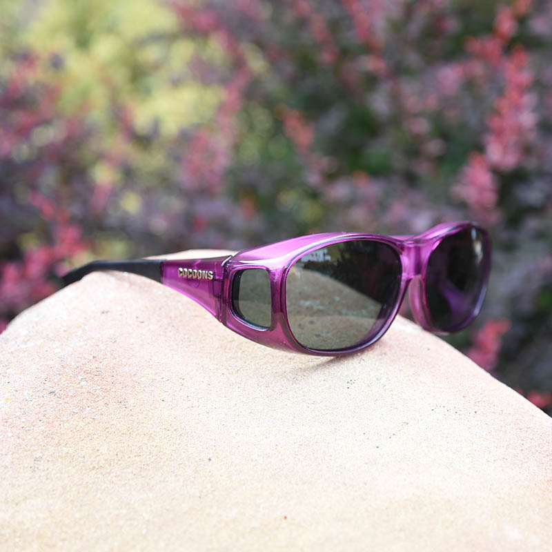 c936b6a0bf Cocoons Fitovers Sunglasses Amethyst · Amethyst Polarized ...