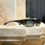 Cocoons fitover sunglasses in Caramel frame finish