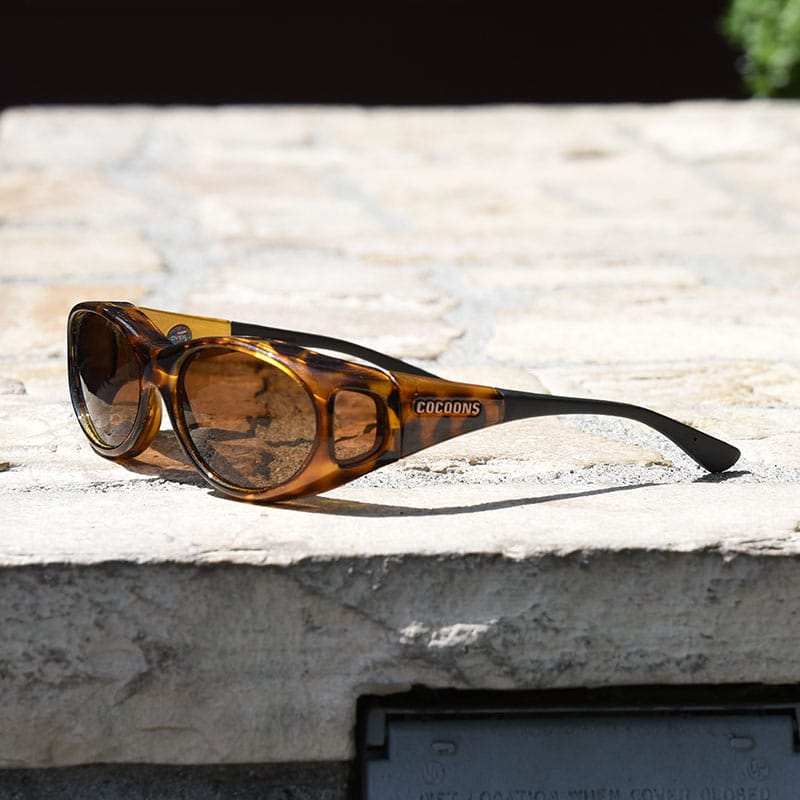 3187731320a Stream Line (S) Leopard Polarized Amber