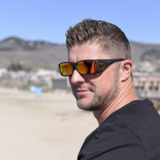 Mirrored fitover sunglasses designed to shield the eyes from the sun's solar radiation