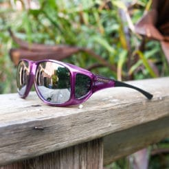 Polarized mirror fitover sunglasses