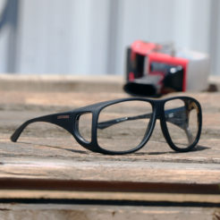 Aviator (XL) Black Clear
