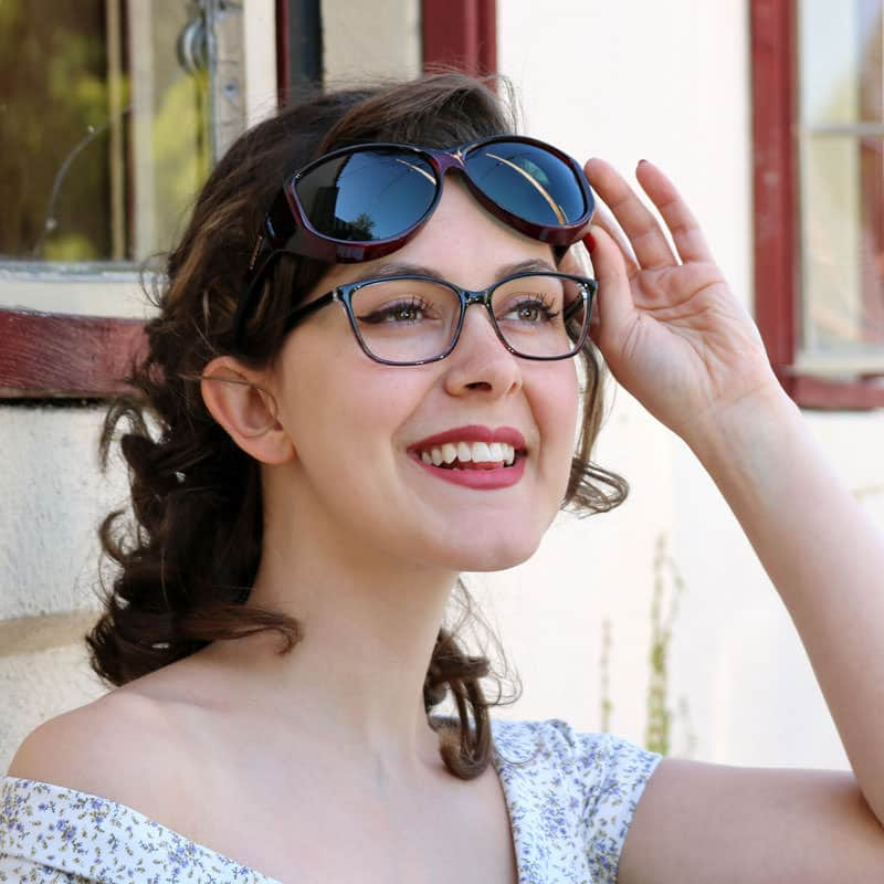 Cocoons fitovers are designed to be worn over glasses
